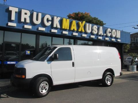 2015 GMC Savana Cargo for sale in Petaluma, CA