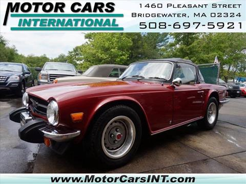 1976 Triumph TR6 for sale in Bridgewater, MA