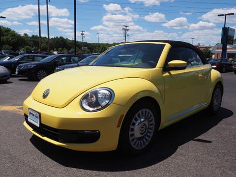 2015 Volkswagen Beetle for sale in Bridgewater, MA