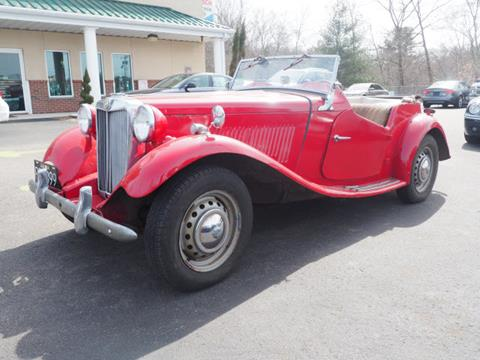 1952 MG TD for sale in Bridgewater, MA