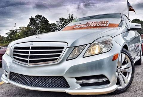 2013 Mercedes-Benz E-Class for sale in Norcross, GA