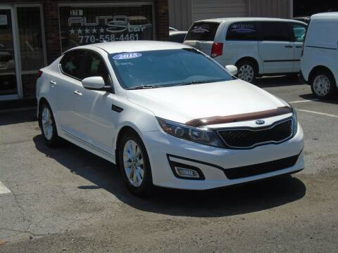 2015 Kia Optima for sale at AutoStar Norcross in Norcross GA