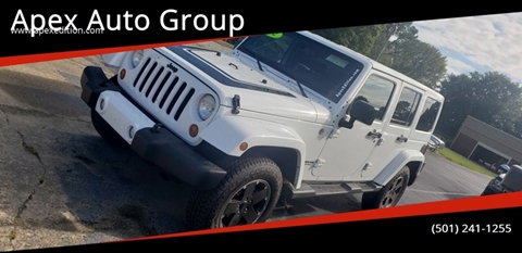 2012 Jeep Wrangler Unlimited for sale in Cabot, AR