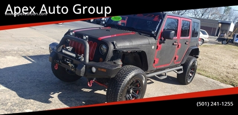 2010 Jeep Wrangler Unlimited Rubicon for sale at Apex Auto Group in Cabot AR