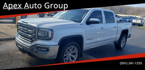 2017 GMC Sierra 1500 SLT for sale at Apex Auto Group in Cabot AR