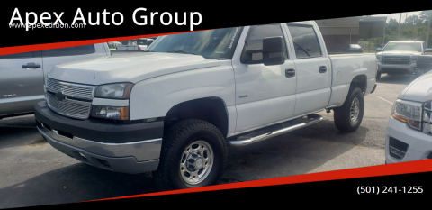 2006 Chevrolet Silverado 2500HD for sale at Apex Auto Group in Cabot AR
