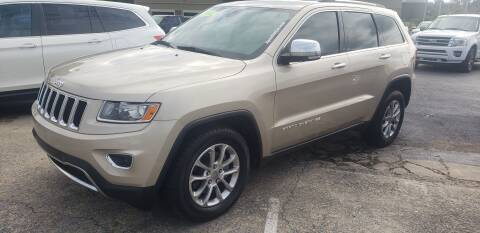 2014 Jeep Grand Cherokee for sale at Apex Auto Group in Cabot AR