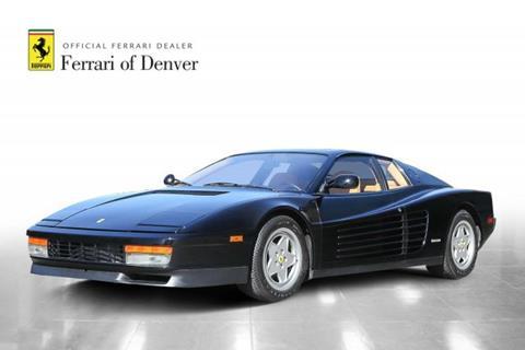1988 Ferrari Testarossa for sale in Highlands Ranch, CO