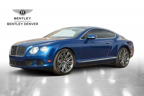 2013 Bentley Continental GT Speed for sale in Highlands Ranch, CO