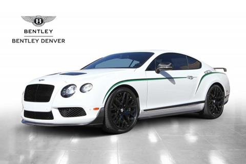 2015 Bentley Continental GT3-R for sale in Highlands Ranch, CO