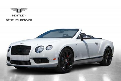 2015 Bentley Continental GTC V8 S for sale in Highlands Ranch, CO