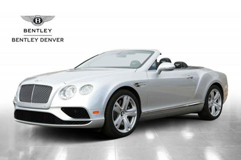 2016 Bentley Continental GTC V8 for sale in Highlands Ranch, CO