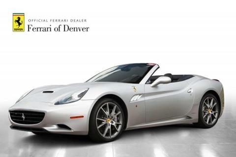 2010 Ferrari California for sale in Highlands Ranch, CO