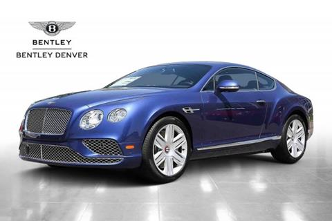 2016 Bentley Continental GT V8 for sale in Highlands Ranch, CO