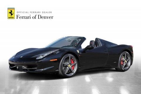 2015 Ferrari 458 Spider for sale in Highlands Ranch, CO