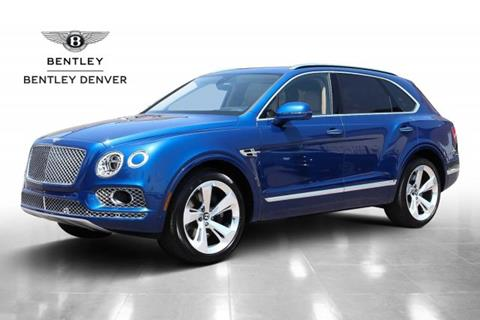 2018 Bentley Bentayga for sale in Highlands Ranch, CO