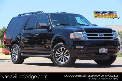 2016 Ford Expedition EL for sale in Vacaville, CA