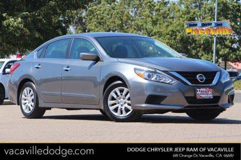 2017 Nissan Altima for sale in Vacaville, CA