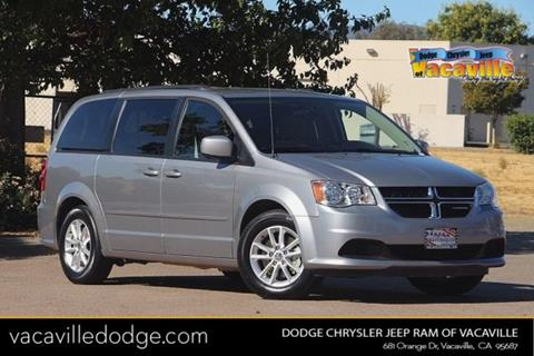 2016 Dodge Grand Caravan for sale in Vacaville, CA