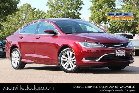 2016 Chrysler 200 for sale in Vacaville, CA