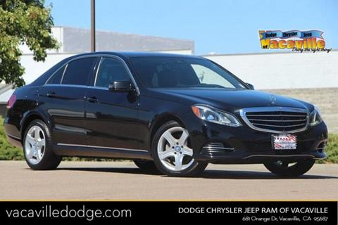 2014 Mercedes-Benz E-Class for sale in Vacaville, CA