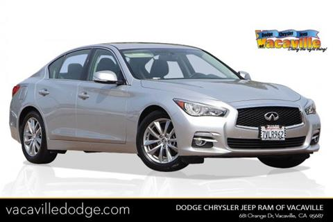 2017 Infiniti Q50 for sale in Vacaville, CA
