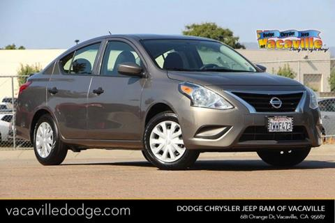 2017 Nissan Versa for sale in Vacaville, CA