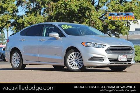 2016 Ford Fusion Hybrid for sale in Vacaville, CA