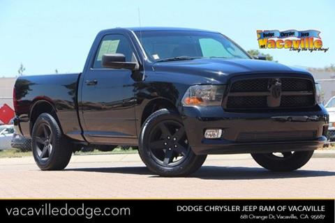2012 RAM Ram Pickup 1500 for sale in Vacaville, CA