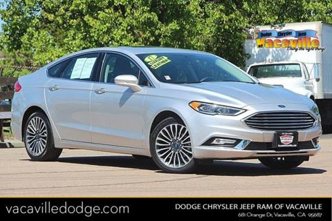 2017 Ford Fusion for sale in Vacaville, CA