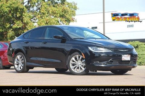 2015 Chrysler 200 for sale in Vacaville, CA