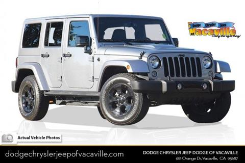 2015 Jeep Wrangler Unlimited For Sale In Vacaville, CA