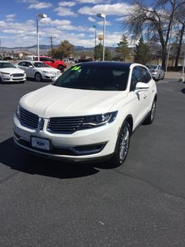 2016 Lincoln MKX for sale in Richfield, UT