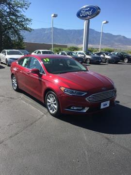 2017 Ford Fusion for sale in Richfield, UT