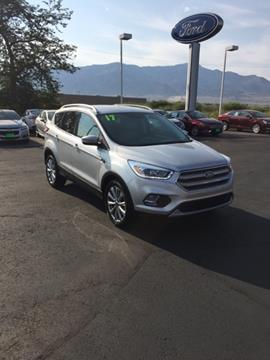 2017 Ford Escape for sale in Richfield, UT