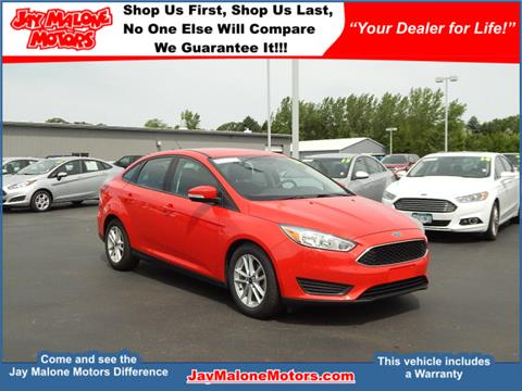 2016 Ford Focus for sale in Hutchinson MN