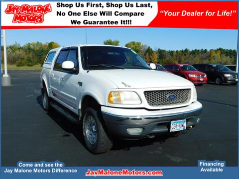 2001 Ford F-150 for sale in Hutchinson MN