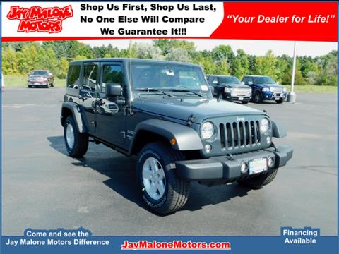 2017 Jeep Wrangler Unlimited for sale in Hutchinson, MN