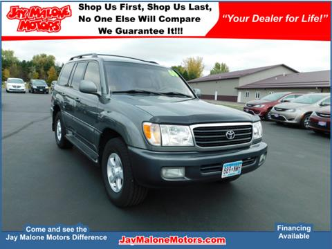 2000 Toyota Land Cruiser for sale in Hutchinson, MN