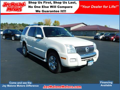 2007 Mercury Mountaineer for sale in Hutchinson MN