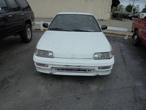1990 Honda Civic CRX For Sale In Fayetteville, AR