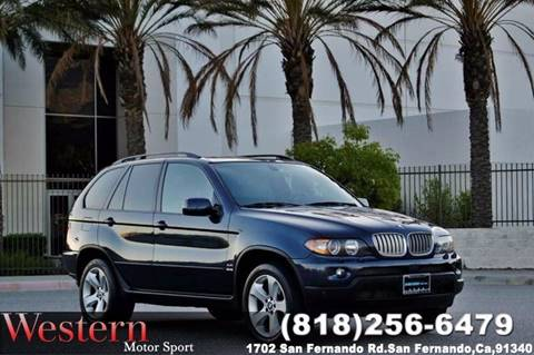 2005 BMW X5 for sale in San Fernando, CA