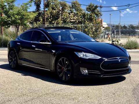 2014 Tesla Model S for sale in San Fernando, CA