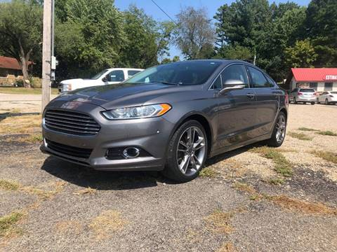 2014 Ford Fusion for sale in Thayer, MO