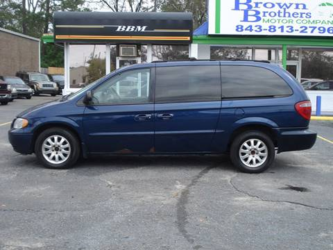 2002 Chrysler Town and Country for sale in North Charleston, SC