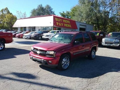 2002 Chevrolet TrailBlazer for sale in Greenwood, IN