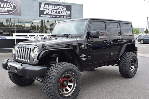 2014 Jeep Wrangler Unlimited for sale in Gresham, OR