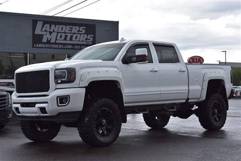 2016 GMC Sierra 2500HD for sale in Gresham, OR
