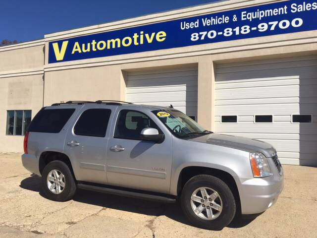 2012 GMC Yukon for sale at V Automotive in Harrison AR