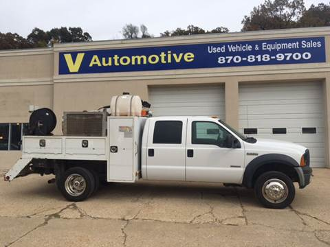 2007 Ford F-550 for sale at V Automotive in Harrison AR